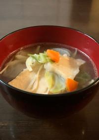 八戸の郷土料理!せんべい汁