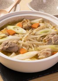 濃厚!たっぷり野菜の鶏白湯風鍋