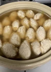 私流豆腐肉団子鍋