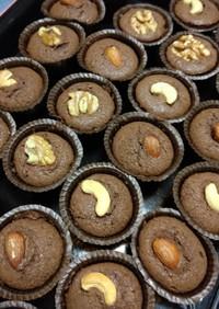 チョコナッツマフィン