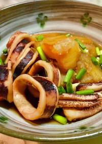No2701イカとジャガイモの生姜煮
