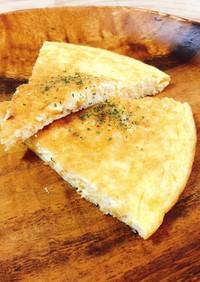 ベーコンと豆腐のチーズオムレツ