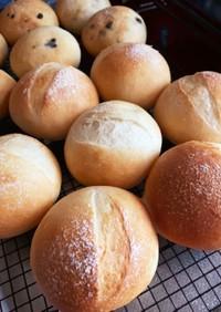 酵母と湯種トリプル使いの超ふわふわパン