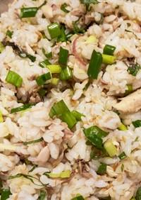 秋刀魚の塩焼きで混ぜご飯