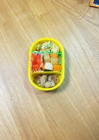 <覚書>珀ちゃんのお弁当一歳三ヶ月(幼児