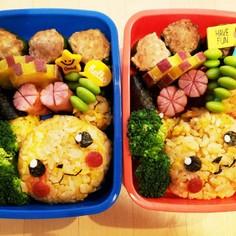 幼稚園のお弁当第73段!!ピカチュウ♪