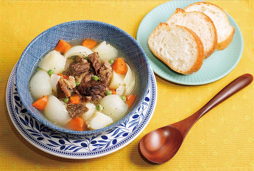 【心もポカポカ♪】牛肉と野菜の煮込み