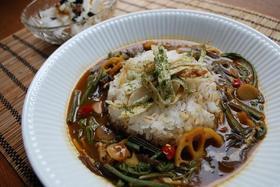 ヘルシー♪山菜和風カレー