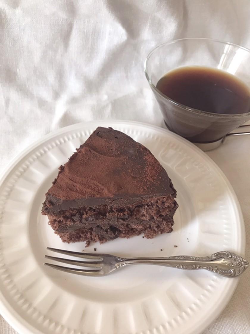 しっとり濃厚♡生チョコケーキ
