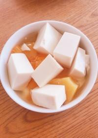 ヘルシー!豆腐のデザート