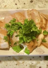 鶏胸肉でヘルシーチャーシュー味玉付き