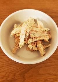 簡単・お弁当!サラダチキンの梅マヨネーズ