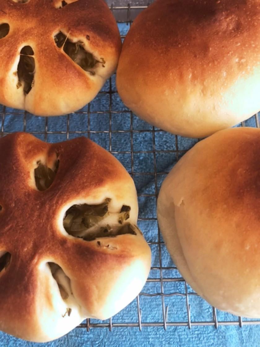 中力粉でパン