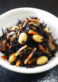 大豆入り★ひじきの煮物(電気圧力鍋3分)