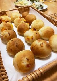 まるめるグルテンフリー米粉パン3種類