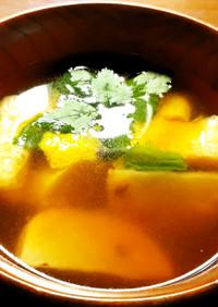 甘くて香りが良い焼き蕪のお味噌汁