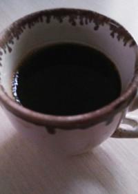 インスタントコーヒーと塩でまろやかに