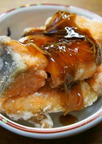 鮭のあんかけ竜田揚げ