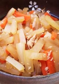 大根とニンジンの簡単煮