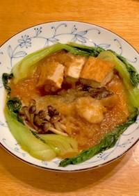 一皿で満足☆白身魚と厚揚げのみぞれ煮