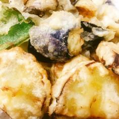 手間なし簡単〜焼き芋の天ぷら