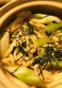 キムチ鍋の素&豆乳・赤味噌の煮込みうどん