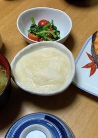 焼き鮭・とろろ・わかめの味噌汁