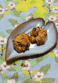 オートミールとジャムのクッキー/おやつ◎
