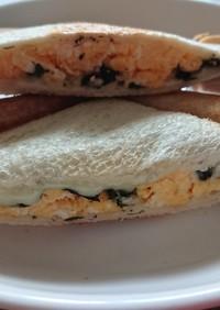 ホットサンド~味付け海苔、卵、チーズ~