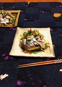 ♡冬野菜としめ鯖のサラダ♡