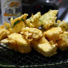 沖縄島豆腐の沖縄天ぷら