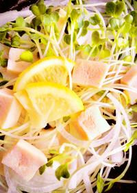 レンジで簡単 高野豆腐のダイエットサラダ