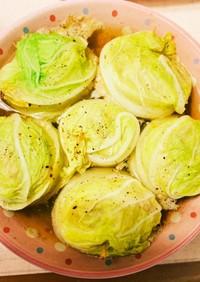 【作り置き】電子レンジでロール白菜