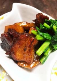 簡単 豚角煮とかぶ