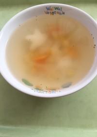 【保育園給食】トッポギスープ