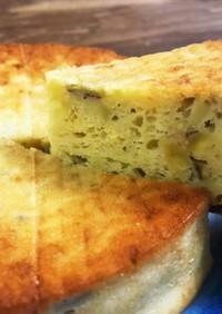 低脂肪低カロリー簡単スイートポテトケーキ