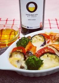 鮭と秋野菜のほっこりドリア
