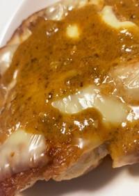 鶏モモ肉トマトバジルソース