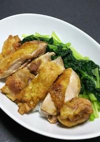 鶏肉でパイコー飯風