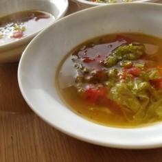 プチトマトのスープ