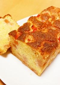フワフワしっとりリンゴパウンドケーキ