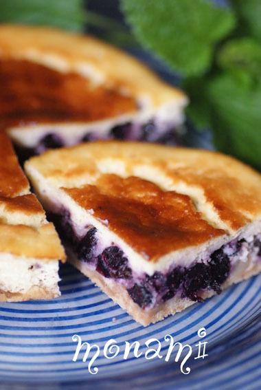低カロリー♡ブルーベリーヨーグルトケーキ
