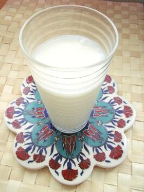 トルコの塩味ヨーグルトドリンク・アイラン
