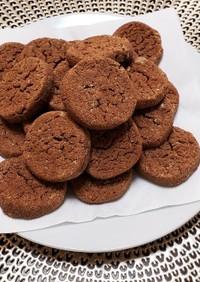 簡単!おからと米粉のココアクッキー