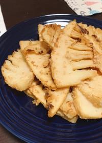 筍の胡麻味噌炒め