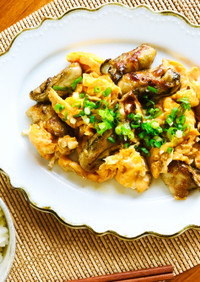 冬のオススメおかず★牡蠣と卵の台湾風炒め