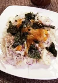 ツナと豆腐のしらすおろし大根サラダ