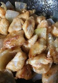 簡単❣️鶏肉の唐揚げのオーロラソース和え