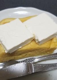 電子レンジ★大豆粉蒸しケーキ★糖質制限