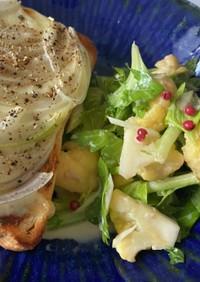 セロリとカリフラワーのサラダ
